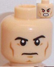 Lego Superman Dual Sided Head x 1 Light Flesh for Minifigure