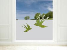 Sichtschutzfolie Schwalben Fensterfolie blickdicht maritim Klebefolie Fenster