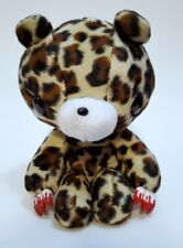 "CHAX Gloomy Bear Leopard Animal Ver CGP-107 Plush Doll Toy Taito 8"""