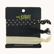null Karat Armband Haarband elastisch Festival Schmuckrausch