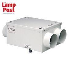 Manrose manhr100r-l'intera Assemblea In-Line recupero di calore sistema di ventilazione KIT