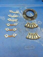 1982 Suzuki GS850g front brake rotor bolts locking plates disk mounting hardware
