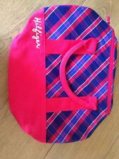 SALE..tommy hilfiger Original Mini duffle bag Red And Blue Check SALE...