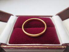 Antique 22ct Gold Wedding Band Ring. Birmingham 1932. Size Q 1/2.