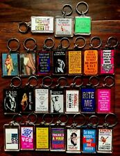 Sexual Nature, Dirty-Minded, Horny, Adult themed Keychains / Key Rings - New