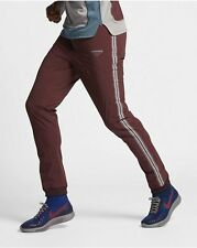 NEW MENS XL X LARGE NIKE LAB GYAKUSOU TEAM TRACK PANTS MAHOGANY MAROON 842793