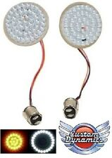 "LED Turn Signal Inserts 2"" BULLET Style GEN-200-AW-1157 for Harley Davidson *New"