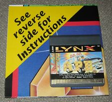A.P.B  APB  Game For Atari Lynx New Cartridge and Manual/No Box