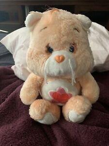 Rare UK Only Vintage Proud Heart Cat Care Bear Cousin