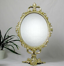 Standspiegel Tischspiegel Kippspiegel Schminkspiegel Kosmetikspiegel Antik 52 cm