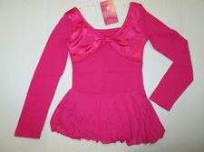 NEW Size MC Skating Dance Leotard Pink Dress Skirt Jazz Costume Child M