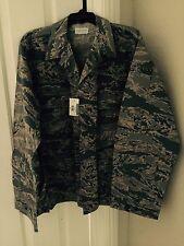 NWT Genuine Air Force Military ABU's Shirt.Tiger Stripe  40R