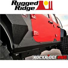 Rugged Ridge STEEL BODY ARMOR CLADDING 07-17 JEEP WRANGLER JKU 4 Door 11615.10