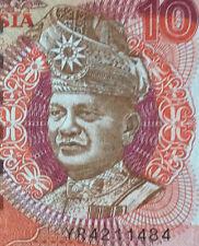 last prefix YR4211484 Ahmad Don 7th sr. banknote FCO printer $10 rare! nice
