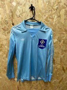 SV Hamburg Original 1978/79 adidas Long Sleeve Football Shirt Size Youths Ventex