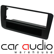 Connects2 CT24AU20 Audi A1 2011 On Car Stereo Single Din Black Fascia Panel