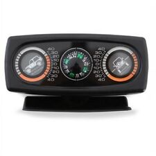 Smittybilt 791006 Clinometer II Jeep Graphic With Compass Black
