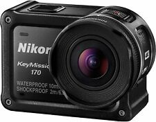 Nikon keymission 170 4k UHD Aktion Kamera-Schwarz