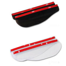 2PCS AUTO ACCESSORY Universal Transparent Car Rearview Mirror Rain Shield Board