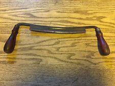 VINTAGE P. S. & W. (PECK, STOW, & WILCOX CO.) 10 INCH DRAW KNIFE