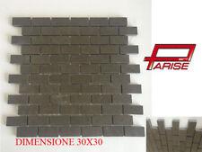 Mosaico su rete ceramica rivestimento gres porcellanato muschio pavimento 30x30