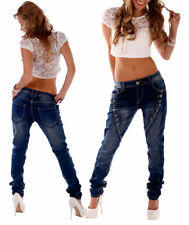 Mozzaar Hosengröße 38 Boyfriend Damen-Jeans
