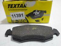 Pills Front Brake Pads Pad Set Textar FIAT Palio 1996