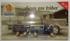 GRELL HO 1/87 CAMION REMORQUE TRUCK TRAILER MAGIRUS 1923 LÖWENBRÄU BEER BIERE