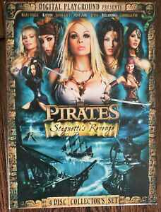 Pirates II Stagnetti's Revenge Riley Steele Katsuni Sasha Grey DVD 4 Disc set