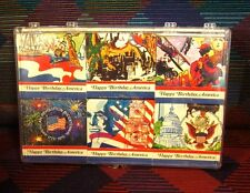 AMERICAN BICENTENNIAL matchbook collection NWT Warren Tribune Chronicle 1975