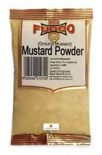 MUSTARD POWDER (GROUND MUSTARD) - FUDCO - 100g