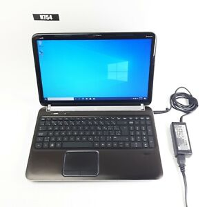 "HP PAVILION DV6-358D 15.6"" LAPTOP AMD A8-3510MX 8GB 500GB WIN 10 PRO H754"