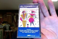 Bill Summers and Summers Heat- London Style- new/sealed cassette tape