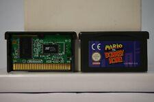 Mario vs donkey kong nintendo gameboy advance game boy GBA genuine 2011 clean