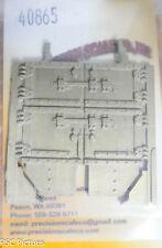 Precision Scale O #40865 Door, for Tender Coal, PRR K-4 (Brass Casting)