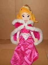 Disney Store Princess Sleeping Beauty Aurora plush *HAS WEAR*