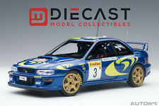 AUTOART 89790 SUBARU IMPREZA WRC 1997 #3 RALLY OF MONTE CARLO 1:18TH SCALE