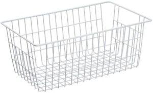 Farmhouse Freezer Wire Storage Baskets Organizer Bins Large Metal Wire Baskets