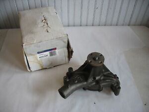 New NOS GM ACDelco Engine Water Pump 12307869 Buick Chevrolet GMC 1982-1996