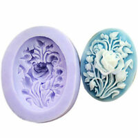 Rose Flower Silicone Fondant Mould Cake Decorating Chocolate Baking Mold Tool