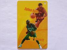NBA Toronto Raptors JALEN ROSE & Minnesota Timberwolves KEVIN GARNETT Sportscard