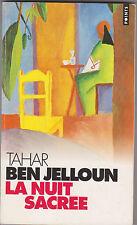 La Nuit Sacrée - Tahar Ben Jelloun. Goncourt 1987. August Macke illustration