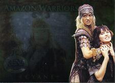 XENA BEAUTY AND BRAWN AMAZON WARRIOR CARD AW3