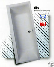 TROJAN ELITE DOUBLE END BATH 17x7 WITH C/C WC & BASIN SET, £10 DELIVERY AREAS