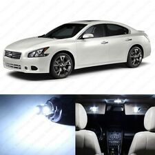 12 x Xenon White LED Interior Light Package For 2009 - 2013 Nissan Maxima