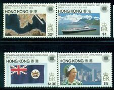 HONG KONG 411-14 SG438-41 MNH 1983 Commonwealth Day set of 4 Cat$9