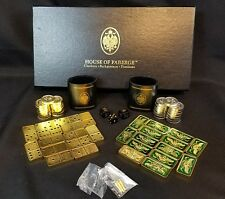 HOUSE OF FABERGE Checkers Backgammon Dominoes