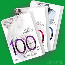 FOR 100 DAYS + NIGHTS + REASONS | LARA ADRIAN | Band 1-3 der Erotik-Roman-Reihe