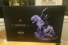 DOTA 2 Mirana Princess of the Moon Collectible Statue w/ Genuine Tsukumo Code