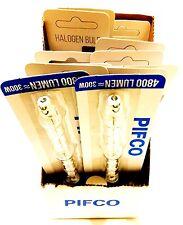 Pifco j118 230w Alogena Lineare Lampadine Sicurezza Flood 300w, 120mm